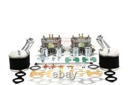 Carburettor Carb Conversion Kit for VW TYPE 1 FAJS HPMX WEBER IDF DUAL 40mm EMPI