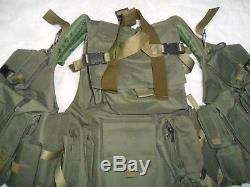 Current Israeli Army Idf Vest Zahal Tactical Combat Made in Israel Free Shipping