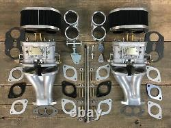 Doppelvergaseranlage 44 IDF FAJS Vergaser für VW Käfer Bus Porsche Tuning Typ1
