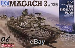 Dragon 1/35 3578 IDF Magach 3 Tank withERA (The Six-Day War)(Middle East War)