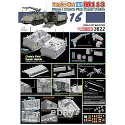 Dragon #3622 1/35 IDF M113 Fitters & Chatap Field Repair Vehicle (Combo Set)