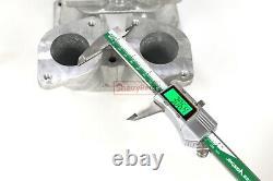 Dual Intake Carburetor Manifolds Kit For Porsche 356 912 Weber 36/40/44/45 Idf