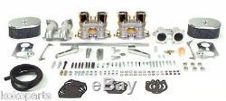 EMPI Dual 44 HPMX Carburetor Kit VW Type 4 IDF Copy