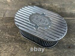 EMPI Sport- Luftfilter Aluguss WEBER IDF Vergaser 98mm hoch PORSCHE 356 / 912