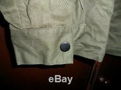 EXTREMELY RARE Unique 1965 Israeli Army Shirt Idf Zahal Uniform with METAL BUTTONS