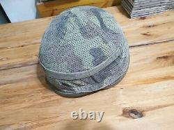 Early 2000s idf combat helmet with cover