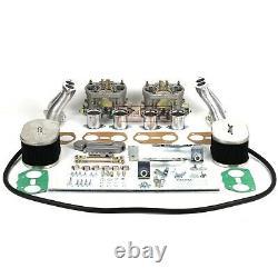 FAJS 2x Idf 40 TWIN Gasification KIT Carburettor for VW Beetle Bus T1 rep. WEBER