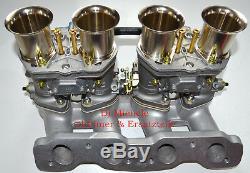 Fiat 124, Fiat 131, 2x 44 IDF 71 Weber Vergaser Neu, Komplett Anlage, Fiat 132