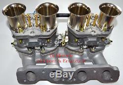Fiat 124, Fiat 131, 2x 48 IDF 6 Weber Vergaser Neu, Komplett Anlage, Fiat 132
