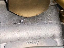 Fiat 124 Set abarth Weber 40 IDF 13 und 14, original aus Italien gefertigte Krüm