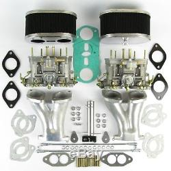 Genuine Weber 40IDF carb kit VW air cooled T1 jetted for up to 1800 CSP linkage