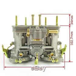 Genuine Weber 44 Idf Twin Carb Ford/vw Aircooled/fiat V6/v8/v12 Engines