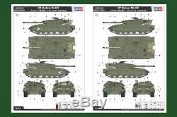 HOBBYBOSS 82441 1/35 ISRAELI DEFENSE FORCE MBT MERKAVA Mk. III D MODEL ARMOR KIT