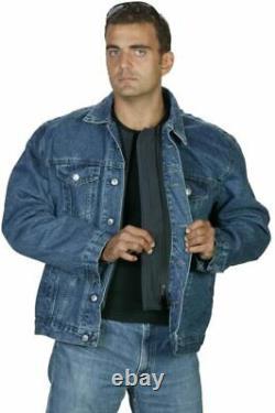 Hagor Civilian Jeans Tactical Body Armor Jacket Bullet Proof Resist 3A IDF