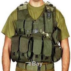 Hagor Officer Swat Military Tactical Vest Cordura Combat Harness IDF israel