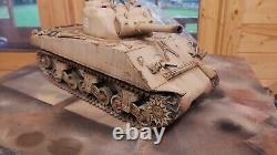Heng long 1/16 sherman m4a3 rc model tank in IDF camoflage
