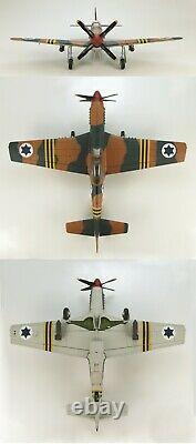 Hobby Master 148 P-51D Mustang IDF/AF 101st Scorpion Sqn Israel Suez Cam HA7709