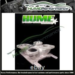 Holley Square Spread Bore Adaptor Idf Down Draft Weber Ford Gm Chev 12-3143