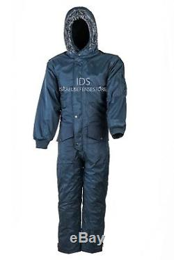 IDF Hagor Hermonit Winter Snowsuit Clothing Ski Snow Cold Coverall Navy Blue