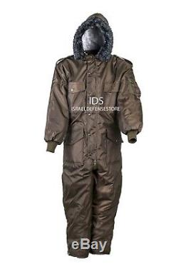 IDF Hagor Hermonit Winter Snowsuit Clothing Ski Snow Cold Coverall Olive Green