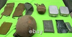 IDF ISRAEL GOLANI HELMET, HAT, MEDAL, Bandages, cutlery, foot protector, BOTTLE