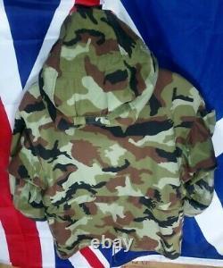 IDF Irish DPM Combat Windproof Smock Jacket SIZE MEDIUM