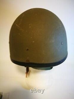 IDF Israel Army Israeli Israel Made Ballistic Battlefield Helmet With Insignia