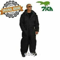 IDF Israel Black Cold Weather Hermonit Winter Gear Coverall water/wind proof L