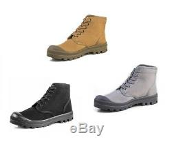 IDF Israel Defense Forces Scout Commando Palladium Style VEGAN Boots US11 / EU45