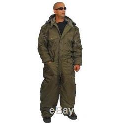 IDF Israel Olive Cold Weather Hermonit Winter Gear Coverall water proof Large