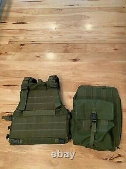 IDF Israeli Defense Force Army Marom Dolphin Tactical Modular Vest With 2x Packs