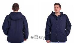 IDF Navy Blue Doobon/Dubon Cold Weather Hooded Coat Parka by Hagor Israel
