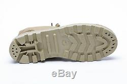 IDF Scout Commando canvas TAN Boots Made in Israel