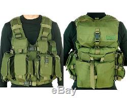 IDF Tactical Combatant Vest TV-7711 with hydration bag By Marom-Dolphin