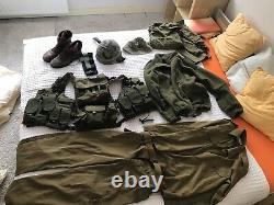 IDF Zahal vest boots uniform Gaza Helmet orlite source israeli