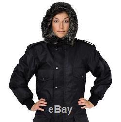 IDF schwarz Schneeanzug Winter-Kleidung Schnee Ski Anzug Einteiler