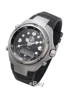 IDS Tactical Men Military Dive Analog Waterproof Watch with IDF Unit Symbol IDF