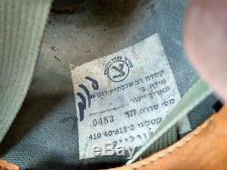 ISRAEL IDF Army Combat Cevlar M 410 Olive