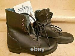 ISRAEL IDF Army ZAHAL Boots Shoes Military WORK LEATHER BRILL Size 42 8.5