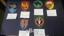 Idf IDF amazing lot of 26 shoulders tags, some of them rare and obsolete WOW