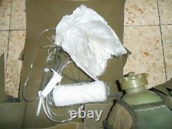 Idf Medic Ephod Vest Harness Web with Contents Zahal Made in Israel Rabintex 1991