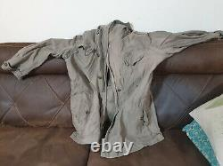 Idf israel early 70s size L field coat with marked over the left pocket