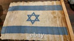 Idf israel genuine 30s 40s israel flag wow