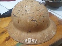 Idf israel very early 1948-1954 idf golani brigade helmet 12th bn barakWOW