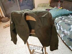 Idf original 1963-1964 wool paratroops brigade jacket size small