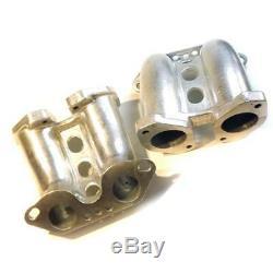 Inlet manifold twin Weber/Dellorto/EMPI IDF/DRLA/HMPX intake Porsche 914 VW