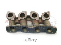 Intake manifold Fiat 124 carburetor Alfa Romeo weber IDF vertical double body