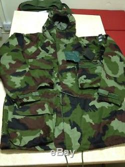 Irish Army Defence Forces IDF NBC Protective Garment Woodland Green DPM Smock