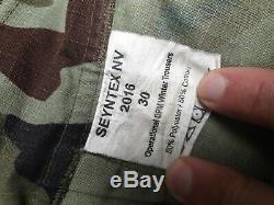 Irish IDF DPM Operational Winter Heavy weight Combat Trousers 30 (Ref 5)