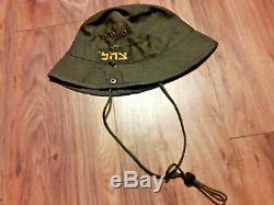 Israel Army Hat OD Green Military Cap idf tzahal cooton boni rafool hat